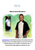 Soma Bariatrics Lap-Band Surgery Los Angeles, CA