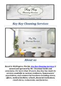 House Cleaning West Palm Beach, FL : Key Key Cleaning Services