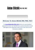 Anton Bilchik MD, PHD, FACS : Colon Oncologist in Los Angeles, CA