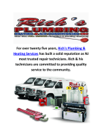 Rich's Plumbing & Heating Services : Plumber in Jersey City, NJ