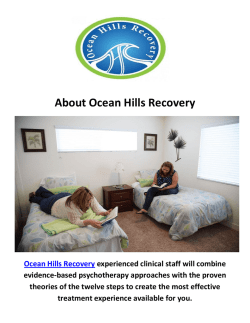 Ocean Hills Recovery Dual Diagnosis California