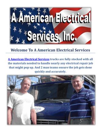 A American Electrical Services   Tucson AZ Electricians
