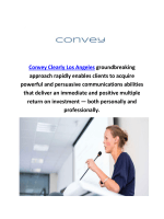 Convey Clearly Accent Reduction Classes in Los Angeles, CA