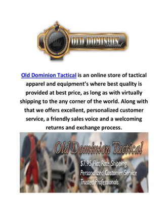 Buy Vector Optics Cobra At Old Dominion Tactical