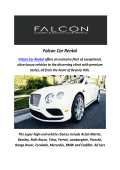 Falcon BMW Car Rental In LA