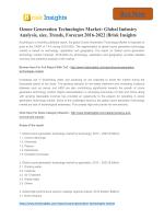 Ozone Generation Technologies Market