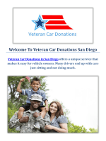 Veteran Car Donations in San Diego, CA