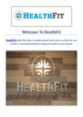 Physical Therapist in San Marino HealthFit