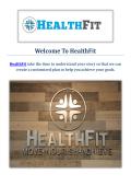 Physical Therapist in San Marino HealthFit