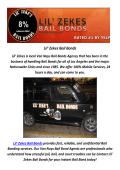 Lil' Zekes Marijuana Bail Bonds In California