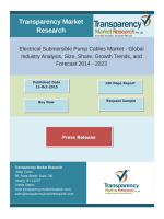 Growth Of Electrical Submersible Pump Cables Market 2014 - 2023