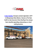 K-Ram Roofing Company in Albuquerque, New Mexico