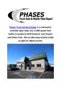 Truck Repair Colorado Springs By Phases Truck and Auto Repair