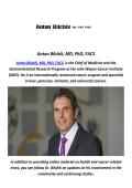 Colorectal Surgery By Anton Bilchik, MD, PhD, FACS