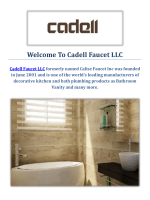 Cadell Faucet LLC | Bathroom Vanity in Fresno, CA