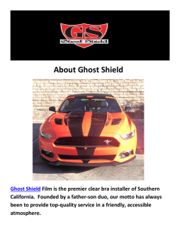 Ghost Shield Car Wraps Los Angeles