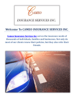 Cameo Auto Insurance Services in Inglewood, CA