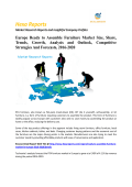 Europe Ready to Assemble Furniture Market Analysis, Competitive Strategies And Forecasts, 2016-2020: Hexa Reports