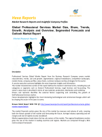 Professional Services Market Size, Share and Trends Growth