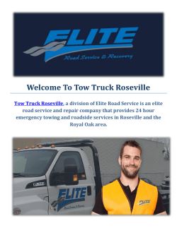 Efficient Truck Towing Service In Roseville