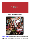 Gunther Toody's Family Friendly Restaurants Denver