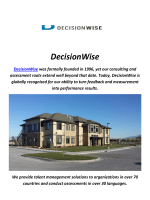 DecisionWise : 360 Degree Feedback Questionnaire In Utah