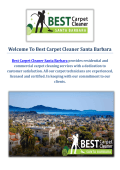 Best Carpet Cleaning Service in Santa Barbara, CA