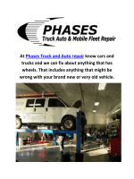 Phases Truck and Auto Repair Shop in Colorado Springs