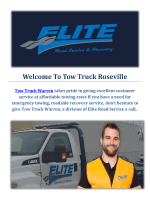 Truck Towing Service In Warren, MI