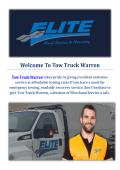 Truck Towing Service In Warren, MI