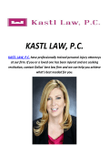 Truck Accident Lawyer In Dallas : KASTL LAW, P.C