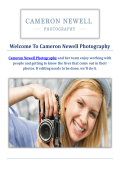 Cameron Newell Pet Photographers in Santa Barbara