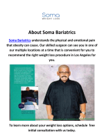 Soma Bariatrics - Tummy Tuck Los Angeles