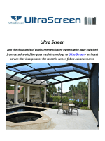 Ultra Screen : Screen Porch In Florida