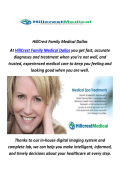 HillCrest Family Medical Urgent Care In dallas