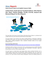 United States Yacht Internet Terminal Industry 2016 Market Insights, Forecasts And Competitive Strategies: Hexa Reports