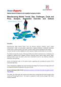 Manufacturing Market Trends, Size, Challenges, Costs and Price, Analysis, Segmented Overview and Outlook