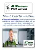O'Connor Pest Control Company in Nipomo, CA