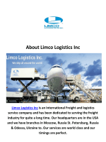 Limco Logistics Inc Air Freight Company in Miami