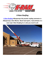 K-Ram Roofers In Albuquerque, New Mexico