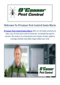 O'Connor Pest & Termite Control Company in Santa Maria