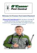 O'Connor Pest Control Company in Hayward, CA