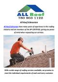 All Roofing Contractors In Edmonton