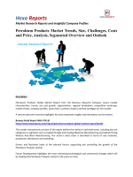 Petroleum Products Market - Overview and Forecast By Hexa Reports