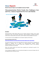 Telecommunications Market - Overview and Forecast By Hexa Reports