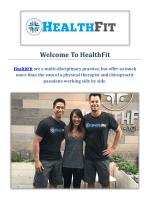 HealthFit Chiropractors in Pasadena, CA