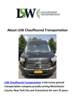 LSW Chauffeured Transportation : Car Service in Westchester