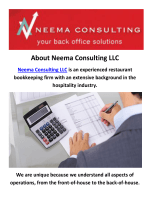 Neema Consulting LLC | Professional Bookkeeping Services in NYC