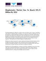 Biophotonics Market Is Expected To Grow Rising Demand Therapeutics, Agriculture And Diagnostics Industry Till 2024: Grand View Research, Inc.