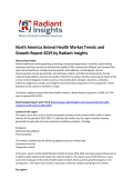 North America Animal Health Market Size Report For 2019 By Radiant Insights, Inc